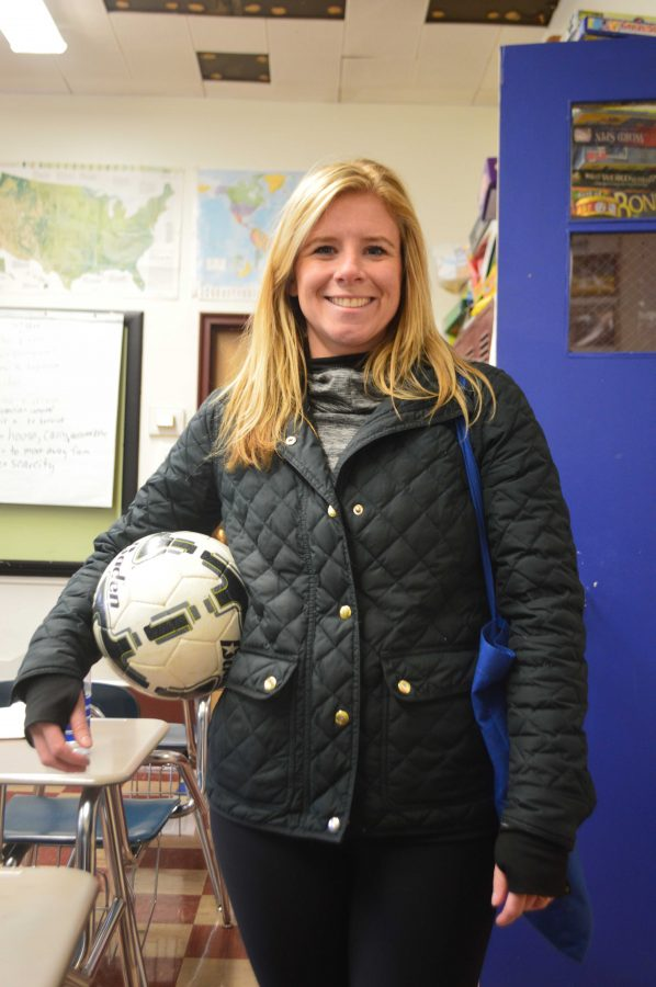 Cleggett Moves From Guidance Office to Soccer Field
