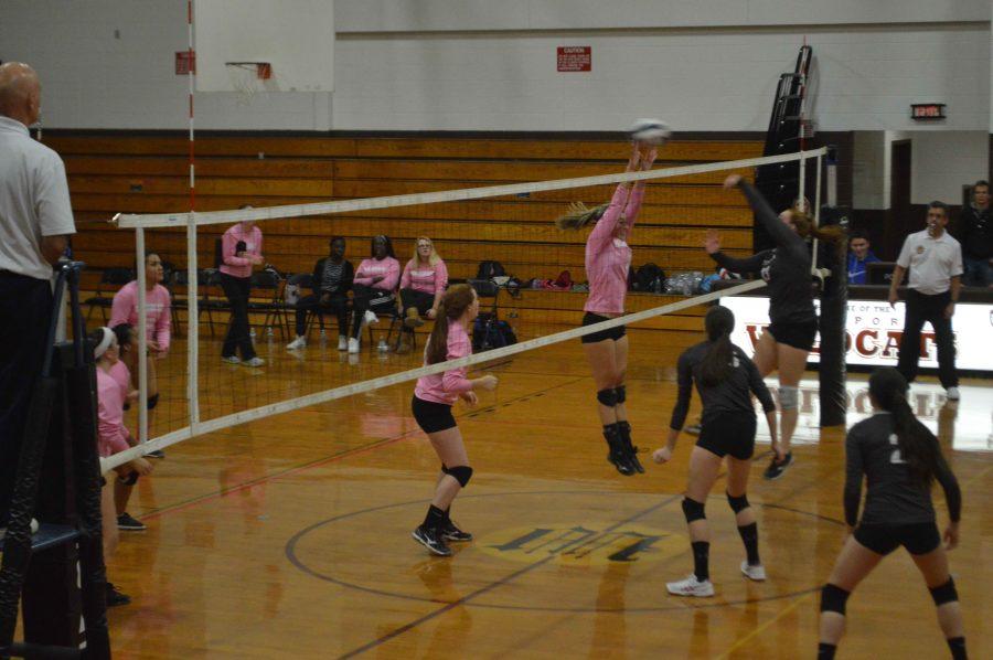 Varsity Volleyball Team Endures Tough Loss