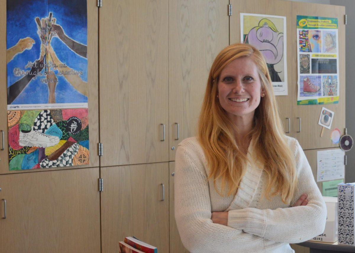 Art Department Welcomes New Teacher