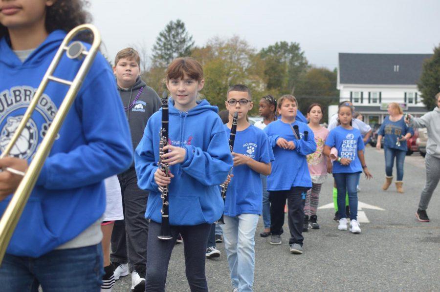 The JFK Elementary School Band