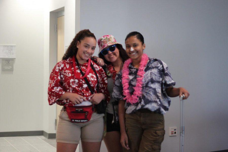 Gyanna Andino, Savannah Barros, and Sierra Fairhurst