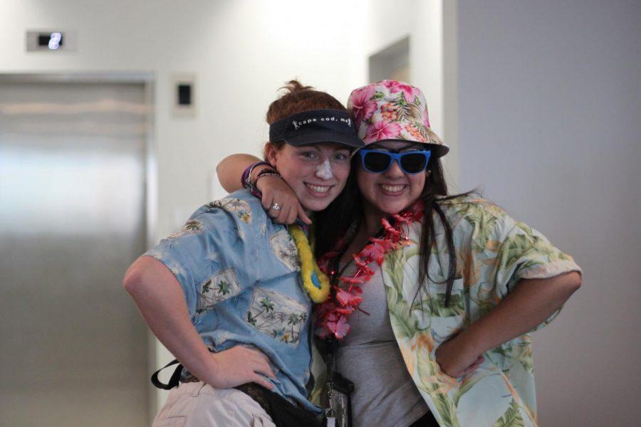 Katelin Andrews and Sierra Fairhurst