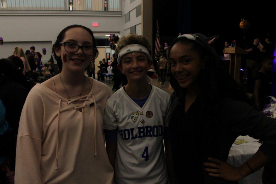 Nicole Marro, Sara Sullivan, and Dalice Rodriguez-Viera