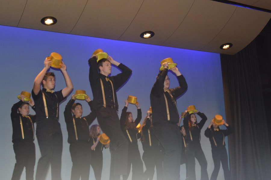 HMHS Show Choir performing One from A Chorus Line