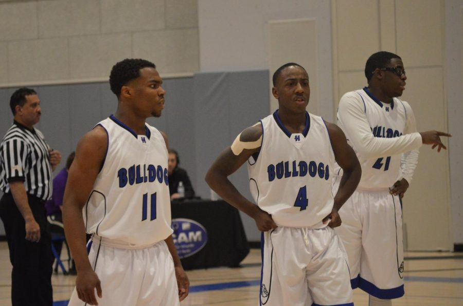 Kyree LaPlanche, Jeremiah King, and Ryan Elusma are ready to lead the Bulldogs in the tournament