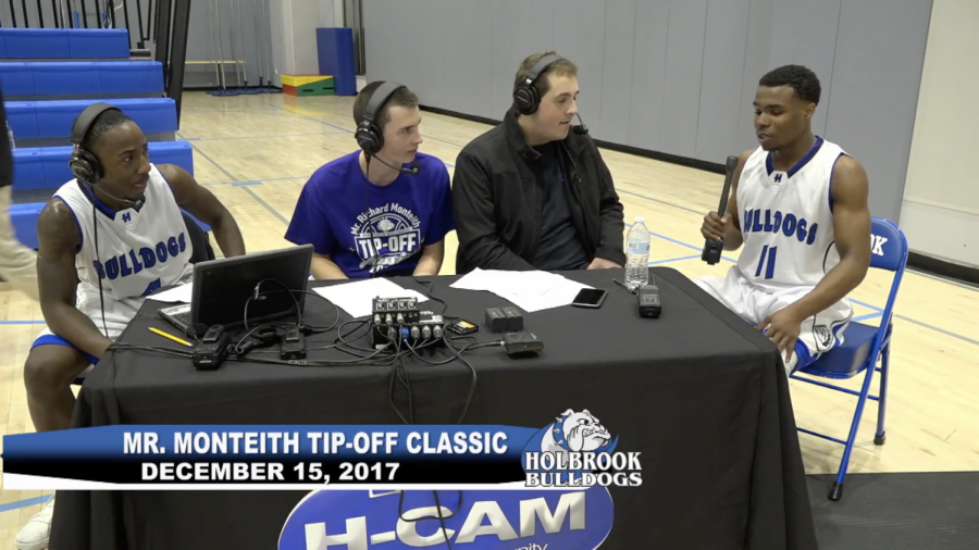 Mr. Monteith Tip-Off Game Interview