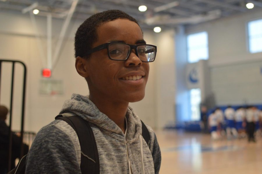 Rolex St. Jean is a freshman at HMHS. He is a JV basketball and Football player. When he was on the football team he was a wide receiver.