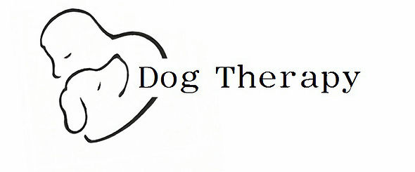 The logo of Dog Therapy