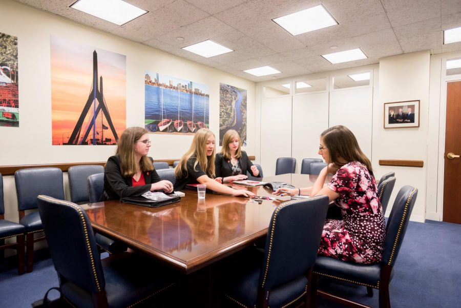 Sarah Ryan in Senator Elizabeth Warren's office