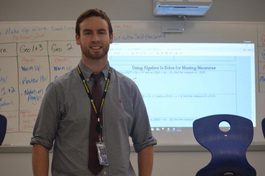 Mr. Bowen is now the new algebra/ math teacher on the high school side of the school.