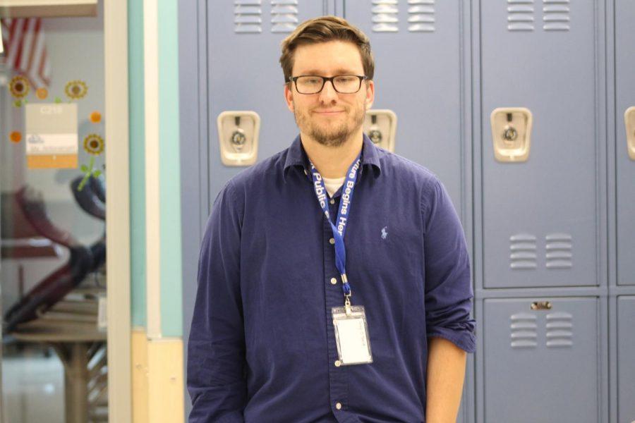 Mr O'Toole, the new history teacher