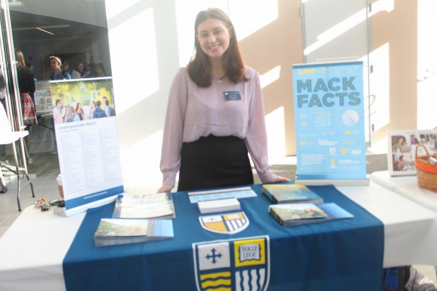 Merrimack College admissions counselor