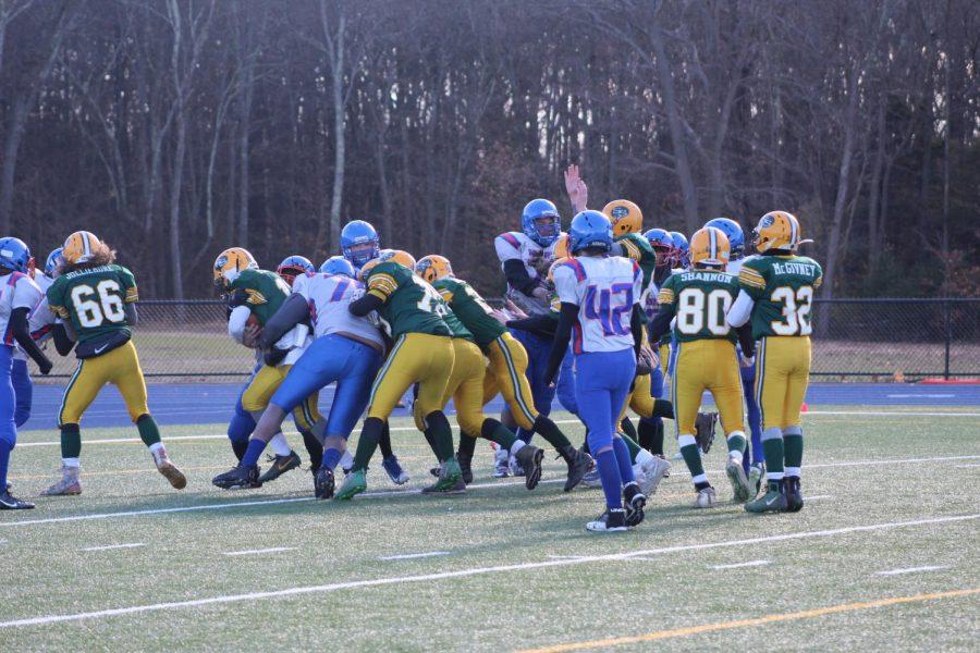 South SHore scores a touchdown