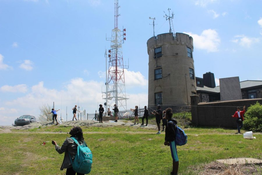 ESL Class Takes Field Trip to Blue Hills Weather Observatory