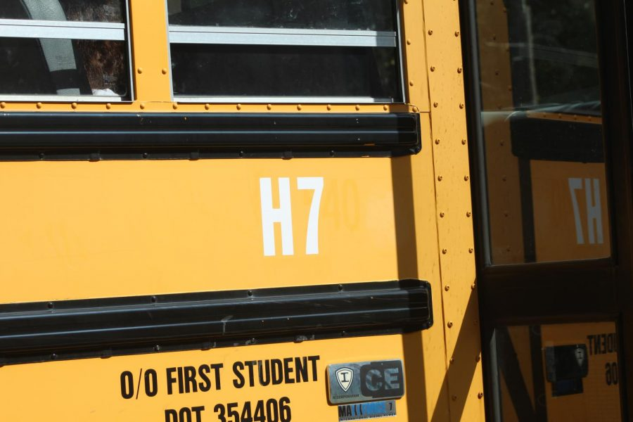 The new Holbrook Middle Highschool bus