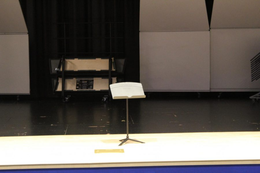 Middle-High school stage