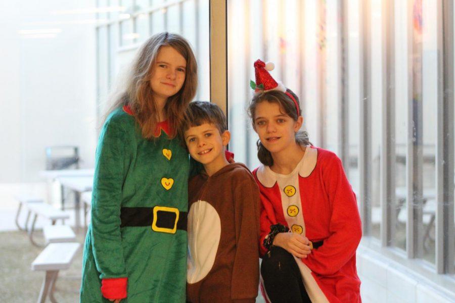 Madisyn Sousa, Carter Sousa, and  Savannah Sousa.