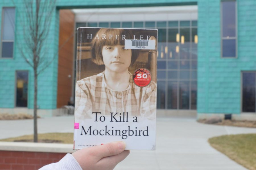 The+popular+1960s+classic%2C+%22To+Kill+a+Mockingbird%22%2C+is+presented+in+front+of+the+school.+