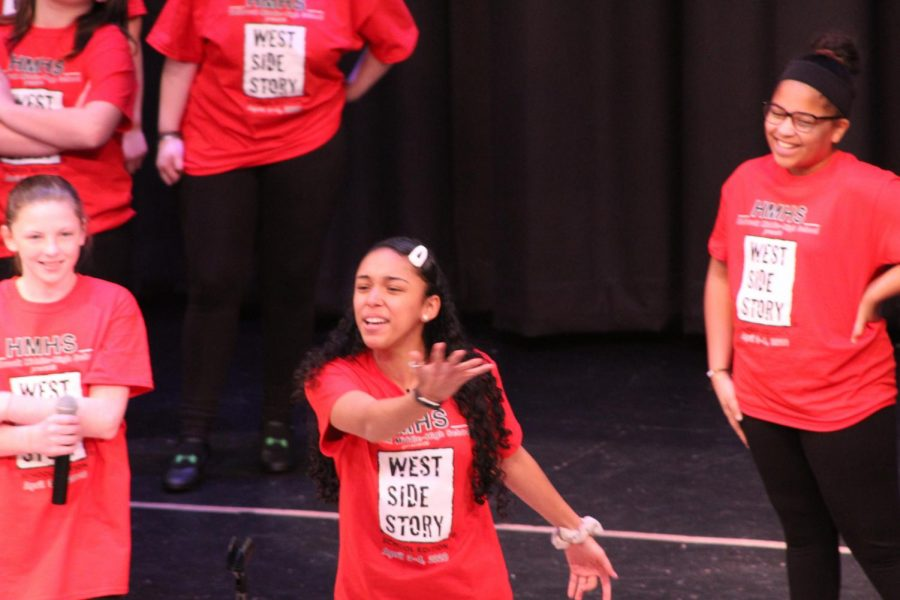 Dalice Rodriguez performs 'America' from West Side Story.