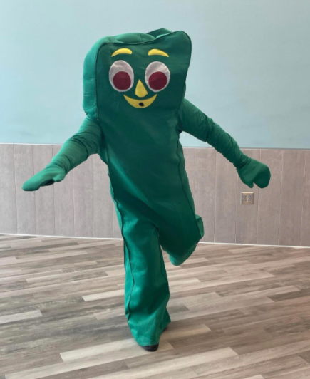 Ms. Neary as Gumby