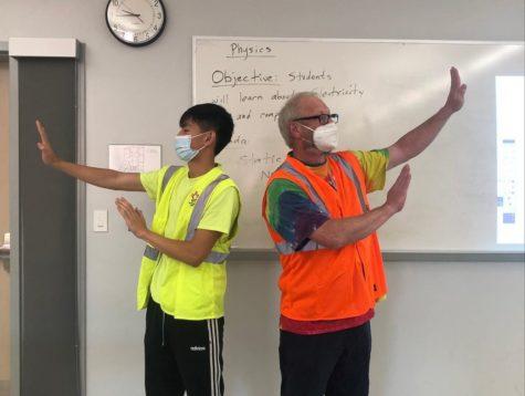 Vincent Tran and Mr Culpepper